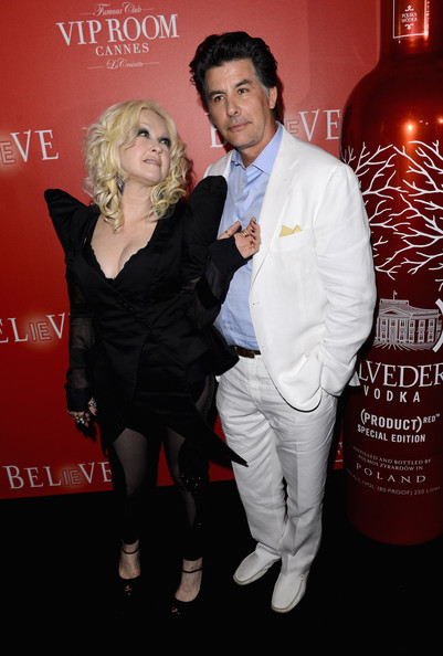 The (BELVEDERE)RED Party In Cannes Featuring Cyndi Lauper - Red Carpet Arrivals