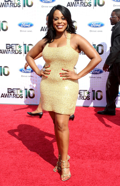 TV personality Niecy Nash arrives at the 2010 BET Awards held at the Shrine Auditorium on June 27, 2010 in Los Angeles, California.