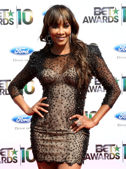 Actress Vivica A. Fox arrives at the 2010 BET Awards held at the Shrine Auditorium on June 27, 2010 in Los Angeles, California.