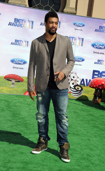 Actor DeRay Davis arrives at the BET Awards '11 held at the Shrine Auditorium on June 26, 2011 in Los Angeles, California.