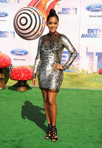 TV Personality LaLa Vazquez arrives at the BET Awards '11 held at the Shrine Auditorium on June 26, 2011 in Los Angeles, California.