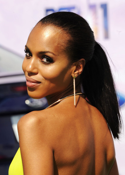Actress Kerry Washington arrives at the BET Awards '11 held at the Shrine Auditorium on June 26, 2011 in Los Angeles, California.