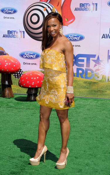Actress Elise Neal arrives at the BET Awards '11 held at the Shrine Auditorium on June 26, 2011 in Los Angeles, California.