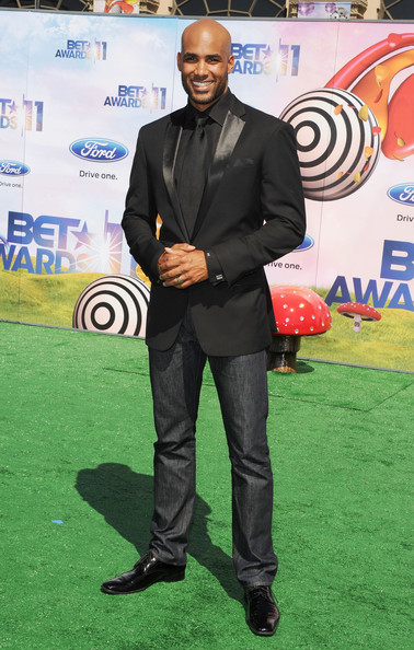 Actor Boris Kodjoe arrives at the BET Awards '11 held at the Shrine Auditorium on June 26, 2011 in Los Angeles, California.