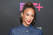 """Paula Patton attends BET+ and Footage Film's """"Sacrifice"""" premiere event at Landmark Theatre on December 11, 2019 in Los Angeles, California."""