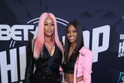 TV personality Tami Roman and Jazz Anderson attend the BET Hip Hop Awards 2017 at The Fillmore Miami Beach at the Jackie Gleason Theater on October 6, 2017 in Miami Beach, Florida.