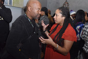 Director John Singelton and Head of Original Programming at BET Zola Mashariki attend the BET Hosted Reception at Riverhorse On Main on January 22, 2017 in Park City, Utah.