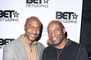 President of Programming for BET Stephen Hill and director John Singleton attend the BET Hosted Reception at Riverhorse On Main on January 22, 2017 in Park City, Utah.