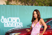 Elise Neal attends the 2017 Soul Train Awards, presented by BET, at the Orleans Arena on November 5, 2017 in Las Vegas, Nevada.
