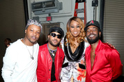 (L-R) BJ The Chicago Kid, Luke James, Yolanda Adams and Luke James attend the 2019 Soul Train Awards presented by BET at the Orleans Arena on November 17, 2019 in Las Vegas, Nevada.