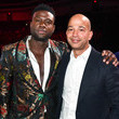 Scott Mills and Sinqua Walls Photos