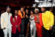 (L-R) Jeremih. Ray J, Doctur Dot, Ari Lennox, Summer Walker, Johnny Venus and Tank attend the 2019 Soul Train Awards presented by BET at the Orleans Arena on November 17, 2019 in Las Vegas, Nevada.