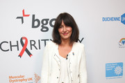 Davina McCall poses for a photo at the BGC Annual Global Charity Day at Canary Wharf on September 12, 2016 in London, England.
