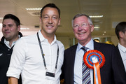 John Terry and  Sir Alex Ferguson attend the annual BGC Global Charity Day at BGC Partners on September 11, 2014 in London, England.