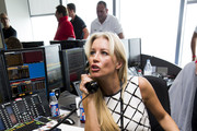 Denise Van Outen attends the annual BGC Global Charity Day at BGC Partners on September 11, 2014 in London, England.