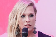 Jennie Garth participates in the Beverly Hills 90210 Costume Exhibit Event at The Atrium at Westfield Century City on August 19, 2019 in Los Angeles, California.