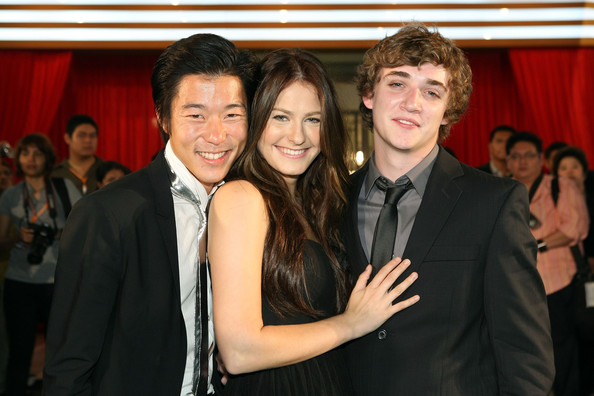 American actors Aaron Yoo, Scout Taylor Compton and Kyle Gallner attend the 2009 Bangkok International Film Festival Opening Ceremony & Gala Screening on September 24, 2009 at SF World Cinema, CentralWorld in Bangkok, Thailand