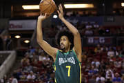 Josh Childress #7 of the Ball Hogs shoots the ball against the Killer 3s in week nine of the BIG3 three-on-three basketball league at KeyArena on August 20, 2017 in Seattle, Washington.