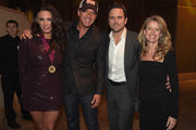 Singer-songwriters Rose Falcon and Rodney Atkins, actor Charles Esten, and Patty Hanson attend the BMI 2014 Country Awards at BMI on November 4, 2014 in Nashville, Tennessee.