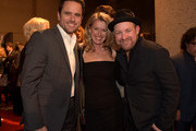Actor Charles Esten, Patty Hanson, and singer-songwriter Kristian Bush attend the BMI 2014 Country Awards at BMI on November 3, 2014 in Nashville, Tennessee.