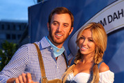 Dustin Johnson attends with Paulina Gretzky the BMW International Open 25th Anniversary Party at Rilano No.6 Lenbach Palais on June 21, 2013 in Munich, Germany.