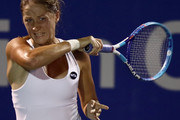 Bojana Jovanovski of Serbia in action during day one of the BMW Malaysian Open at Royal Selangor Club on March 2, 2015 in Kuala Lumpur, Malaysia.