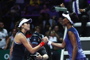 Venus Williams and Garbine Muguruza Photos Photo