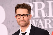 Matthew Morrison attend The BRIT Awards 2019 held at The O2 Arena on February 20, 2019 in London, England.
