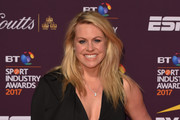 Chemmy Alcott poses on the red carpet during the BT Sport Industry Awards 2017 at Battersea Evolution on April 27, 2017 in London, England. The BT Sport Industry Awards is the most prestigious commercial sports awards ceremony in Europe, where over 1,750 of the industry's key decision-makers mix with high profile sporting celebrities for the industry's most anticipated night of the sport business calendar.