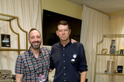 Tony Hale and Timothy Simons attend Backstage Creations Giving Suite At The Emmy Awards - Day 1 at Microsoft Theater on September 21, 2019 in Los Angeles, California.