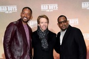 "Will Smith, Jerry Bruckheimer and Martin Lawrence attend the Berlin premiere of the movie ""Bad Boys For Life"" at Zoo Palast on January 07, 2020 in Berlin, Germany."