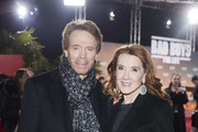 "(L-R) Jerry Bruckheimer and wife Linda Bruckheimer attend the Berlin premiere of ""Bad Boys For Life"" at Zoo Palast on January 07, 2020 in Berlin, Germany."