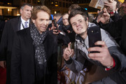 "Jerry Bruckheimer is seen with fans at the Berlin premiere of ""Bad Boys For Life"" at Zoo Palast on January 07, 2020 in Berlin, Germany."