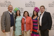 Fashion designer Mark Badgley, Alexandra Dillard, Cannell Dillard, Annemarie Dillard and fashion designer James Mischka attend Badgley Mischka Celebrates The Kentucky Derby With Special Appearance At Dillards on May 1, 2014 in New York City.