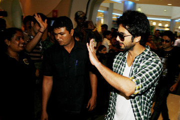 Shahid Kapoor 'Badmaash Company' Press Call