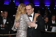 Franziska van Almsick and Jens Spahn attend Ball des Sports 2019 Gala at RheinMain CongressCenter on February 02, 2019 in Wiesbaden, Germany.