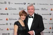 Volker Bouffier and Ursula Bouffier attend the Ball des Sports 2020 gala at RheinMain CongressCenter on February 01, 2020 in Wiesbaden, Germany.
