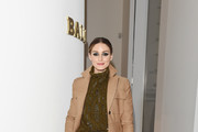 Olivia Palermo attended Bally Autumn Winter 2019 Press Presentation on February 23, 2019 in Milan, Italy.