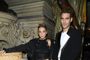 María Pedraza and Jon Kortajarena attend the Balmain Womenswear Spring/Summer 2020 show as part of Paris Fashion Week on September 27, 2019 in Paris, France.