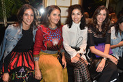 Laure Heriard Dubreuil,  Caroline Issa, and Christina Pitanguy at Balmain - The Best Front Row Fashions at Paris Fashion Week Spring 2017