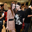 Lydia Hearst and Michelle Trachtenberg