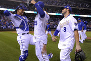 Mike Moustakas Eric Hosmer Photos Photo