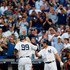 Matt Holliday Photos - Aaron Judge #99 of the New York Yankees celebrates his first inning home run against the Baltimore Orioles with teammate Matt Holliday #17 at Yankee Stadium on June 10, 2017 in the Bronx borough of New York City. - Baltimore Orioles v New York Yankees