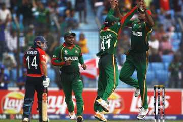 Abdur Razzak Bangladesh v England: Group B - 2011 ICC World Cup