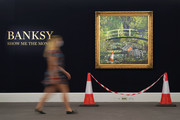 Banksy's 'Show Me The Monet' (2005) to star in Sotheby's 'Modernites/Contemporary' evening auction on the 21st October with an estimate of £3,000,000 to £5,000,000 at Sotheby's on September 18, 2020 in London, England.