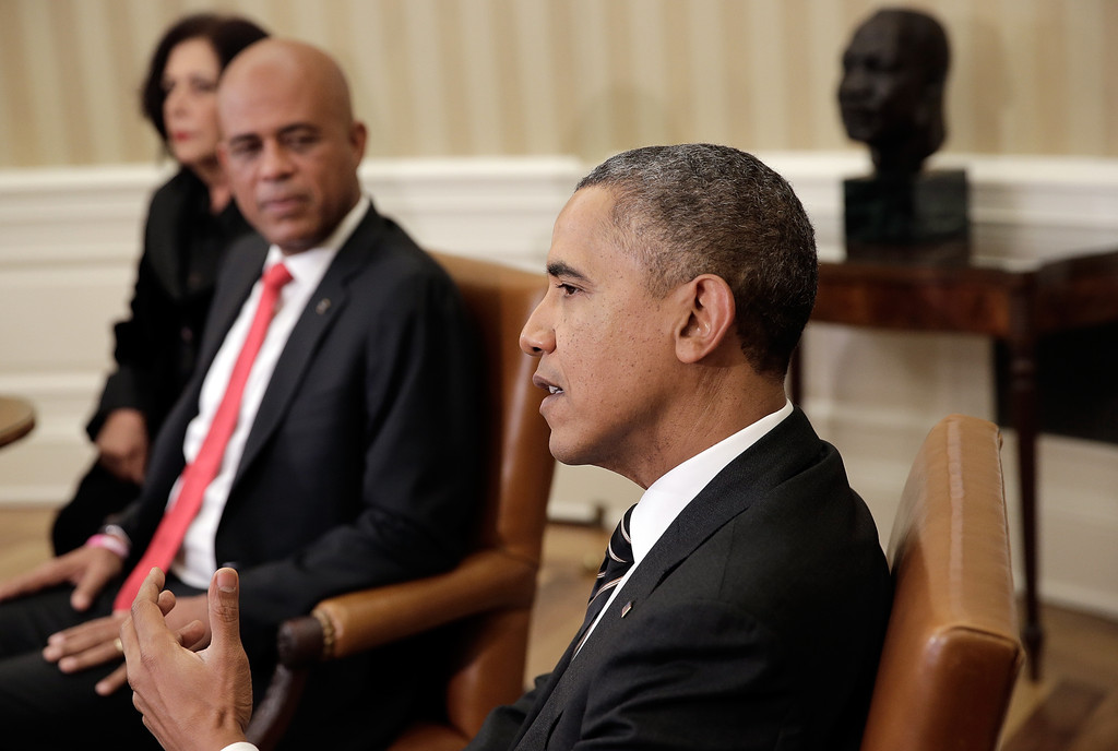 Rencontre entre obama et michel martelly