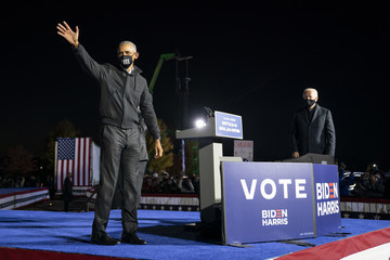 Barack Obama European Best Pictures Of The Day - November 02