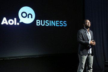 Baratunde Thurston Celebs Attend AOL's Digital Content Event