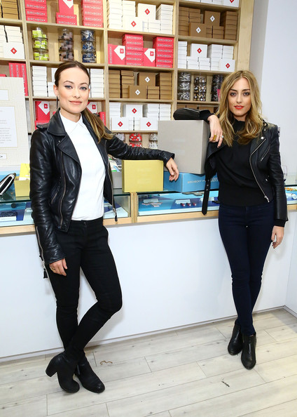 Olivia Wilde Co-Hosts Event At Birchbox Soho In Celebration Of Conscious Commerce + Birchbox Collaboration