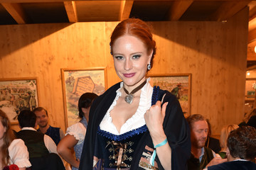 Barbara Meier Celebrities Are Seen at Oktoberfest 2016 - Day 1